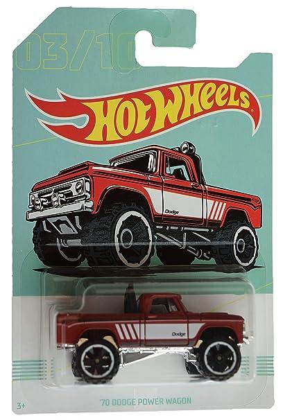 Dodge Power Wagon >> Hot Wheels Red 70 Dodge Power Wagon 3 10