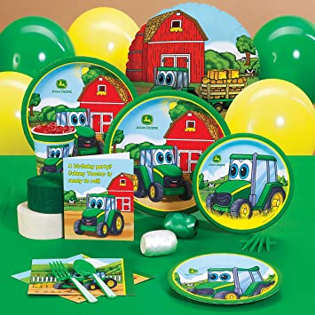 Party Destination 209030 Johnny Tractor 1st Birthday Standard Party ...