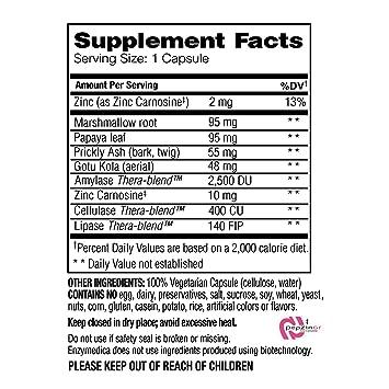 Enzymedica - ácido calmar - 90 cápsulas: Amazon.es: Salud y ...