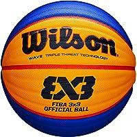 WILSON WTB0533XD Balón, Color Amarillo/Azul