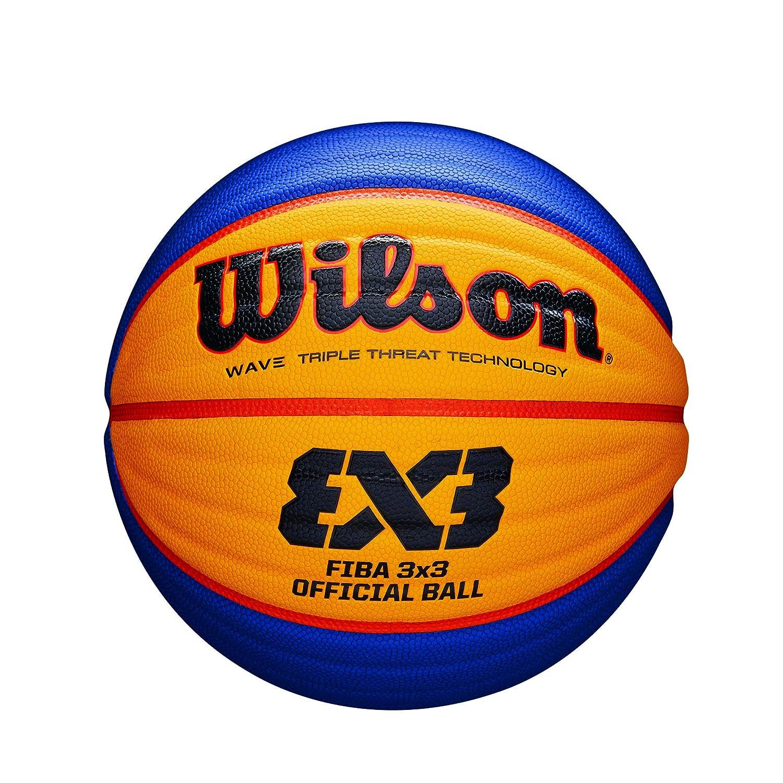 Wilson WTB0533XB Pelota de Baloncesto Fiba 3x3 Caucho Interior y ...