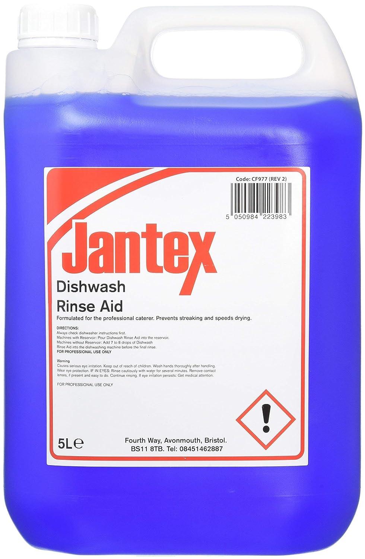 Abrillantador para lavavajillas Jantex CF977, 5 litros: Amazon.es ...