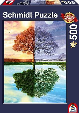 500 Teile Puzzle Spiel Deutsch 2017 Puzzles & Geduldspiele Geduldspiel Süße Leckereien