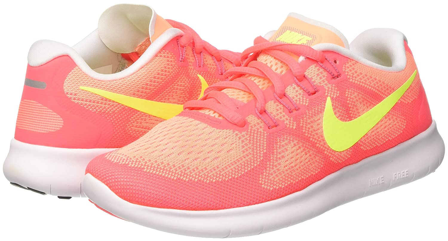 NIKE Women's Free RN 2017 Running Shoe B01K0NRGU8 7.5 B(M) US|Sunset Glow