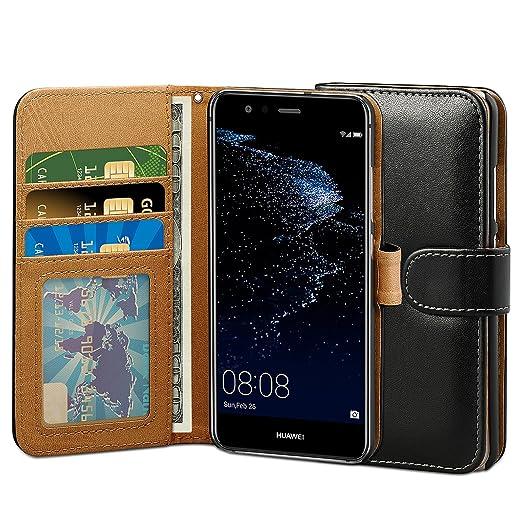 9 opinioni per Cover Huawei P10 Lite, ViViSun Custodia Retro Wallet a Libro in Pelle per Huawei