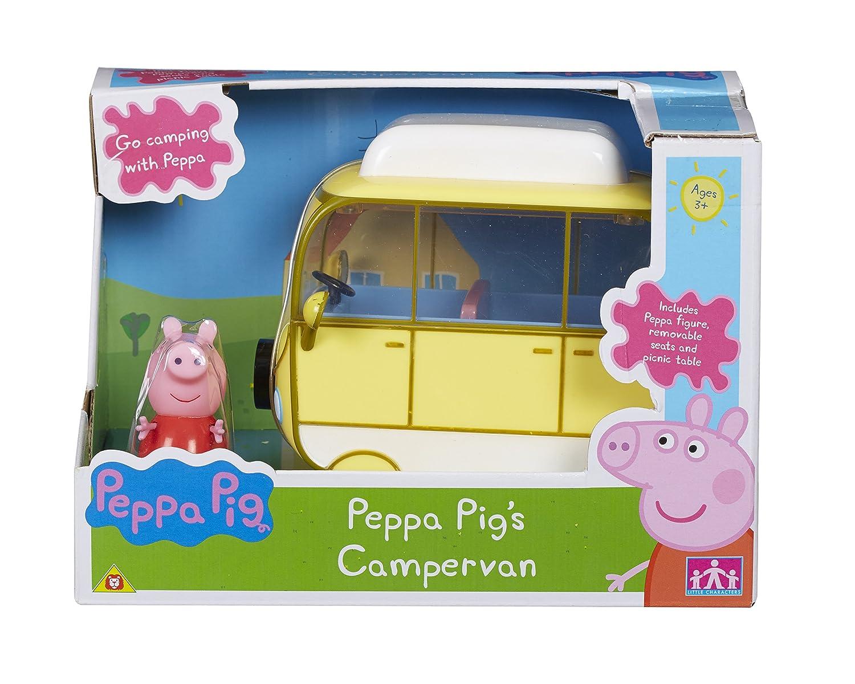 Peppa Pig 06060 Campervan - Vehículo: Amazon.es: Juguetes y juegos