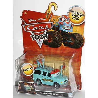 Mattel Disney Pixar Cars 155 Die Cast Car Oversized Vehicle - Tormentors Biggest Fan: Toys & Games