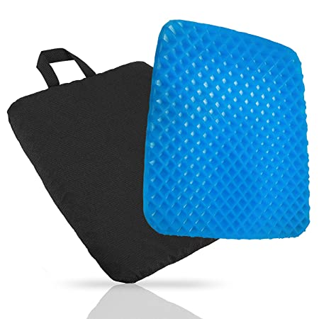 comfort self cooling gel chair seat cushion provide relief for
