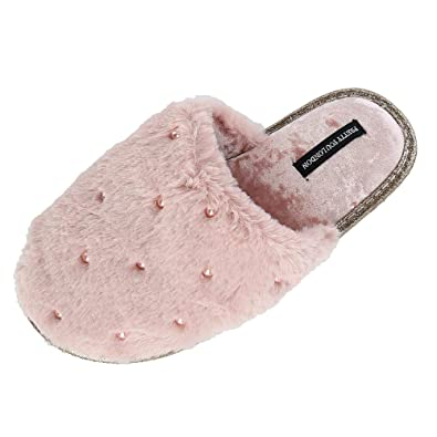 ab67246b3e2 Pretty You London Womens Mule Aura - Grape  Amazon.co.uk  Shoes   Bags