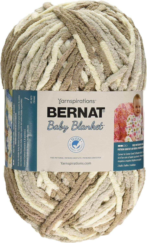 Bernat Blanket Big Ball Yarn-Sand