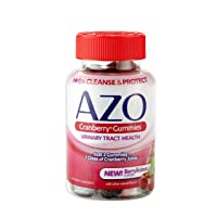 Deals on 40-Gummies AZO Cranberry Urinary Tract Health Gummies