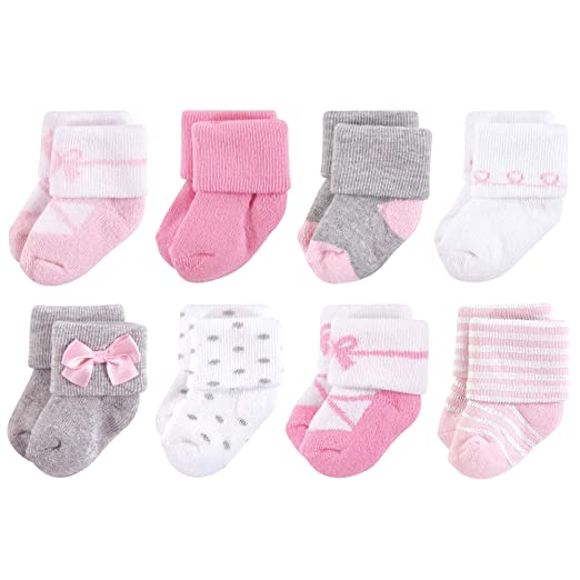 Amazon.com  Little Treasure Baby Terry Socks cdd019a4c