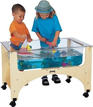 Mesa sensorial transparente para niños: Amazon.es: Amazon.es