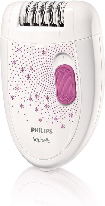 Philips HP6419/02 Satinelle - Depiladora para mujeres (cabezal de ...