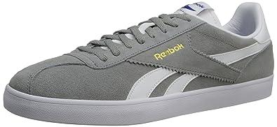 Reebok Men's Royal Alperez Shoe,Flat GreyWhiteGold MetallicReebok Royal
