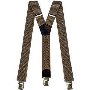 d099d2759947e Brimarc Bretelles de travail tendance pour homme Noir Motif outils et  graduations Largeur 50 mm Accessoires Bretelles