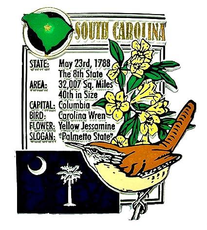 b91007697 North Carolina the Tarheel State Montage Fridge Magnet Magnets