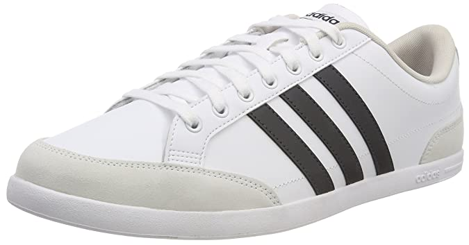 adidas Caflaire Schuhe weiß mit schwarzen Streifen Herren