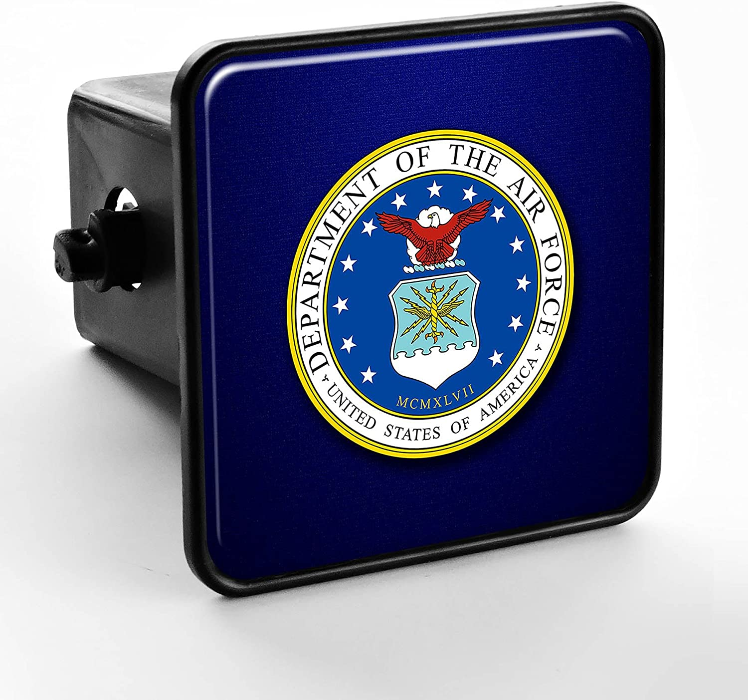 US Department of The Air Force Seal ExpressItBest Trailer Hitch Cover