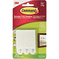 Command CAD17201ES Medium Picture Hanging Interlocking Fastener White