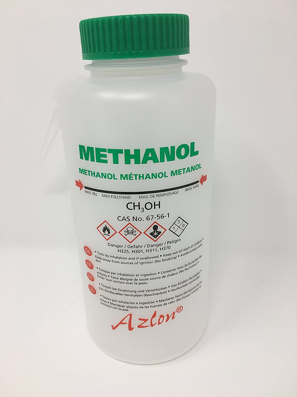 Azlon WGW531VT Wash Bottle Pack of 5 Acetone with Driplock seal 250 mL