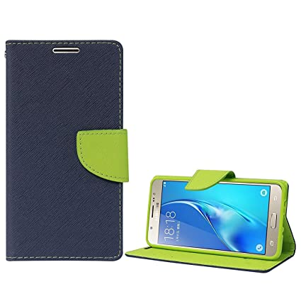 f26416f2d2 SCHOFIC Wallet Diary Flip Cover for Samsung Galaxy On7: Amazon.in:  Electronics