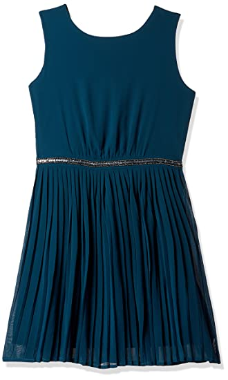 0ceff0cf081 United Colors of Benetton Girls  Dress (16A4WBOT0067IK16EL Blue ...