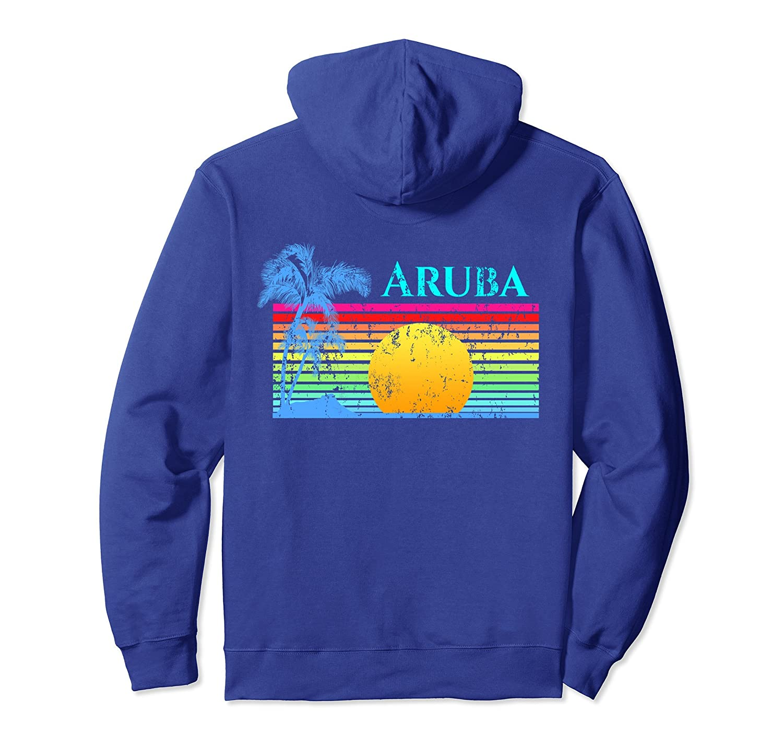 Vintage Style Aruba Pullover Hoodie-TH