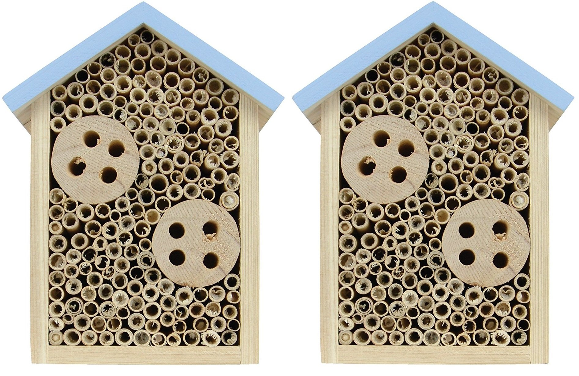 (2 Pack) Nature's Way Bird Products Better Gardens Beneficial Insect House for Pollinators by Nature's Way Bird Products