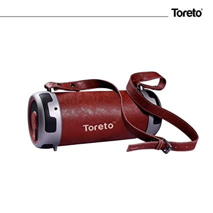 Toreto Outdoor Bluetooth 10W Speaker Boombox-TBS 315 Bluetooth Speakers at amazon