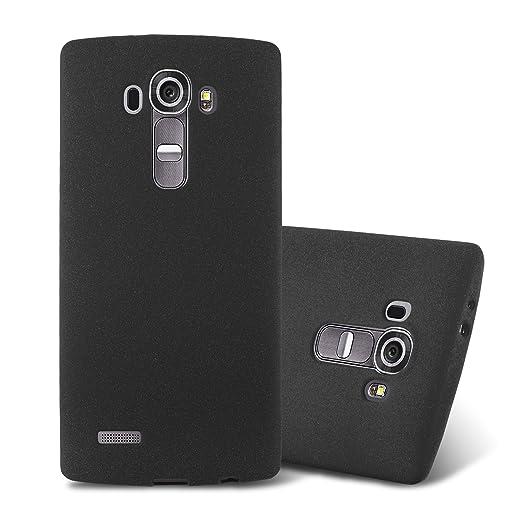 16 opinioni per Cadorabo- Custodia 'Frost' de silicone TPU con colori opachi per LG G4 super