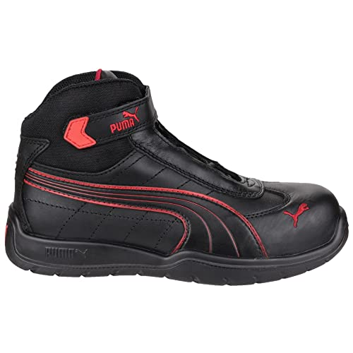 Puma Safety Daytona Mid – Botas de seguridad, color Negro, talla 41 EU
