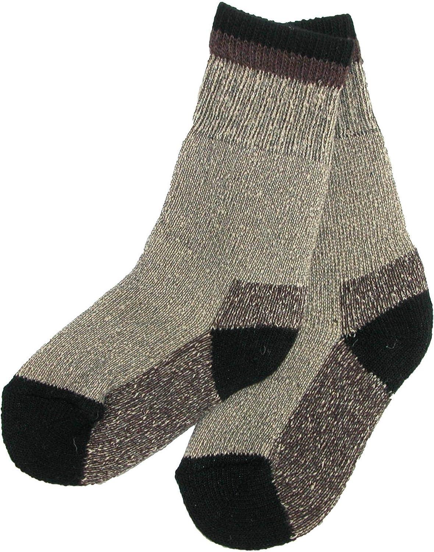 Clear Creek Boy's Wool Hiking Socks (2 Pair Pack)