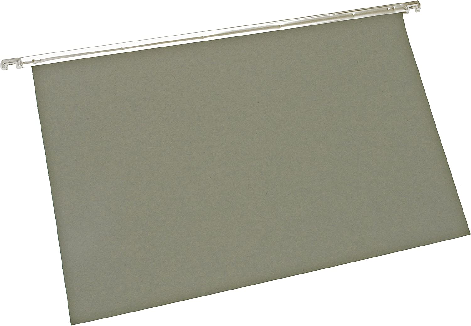 Pack 50 5 Star Office Suspension File Manilla Heavyweight with Tabs and Inserts Foolscap Green