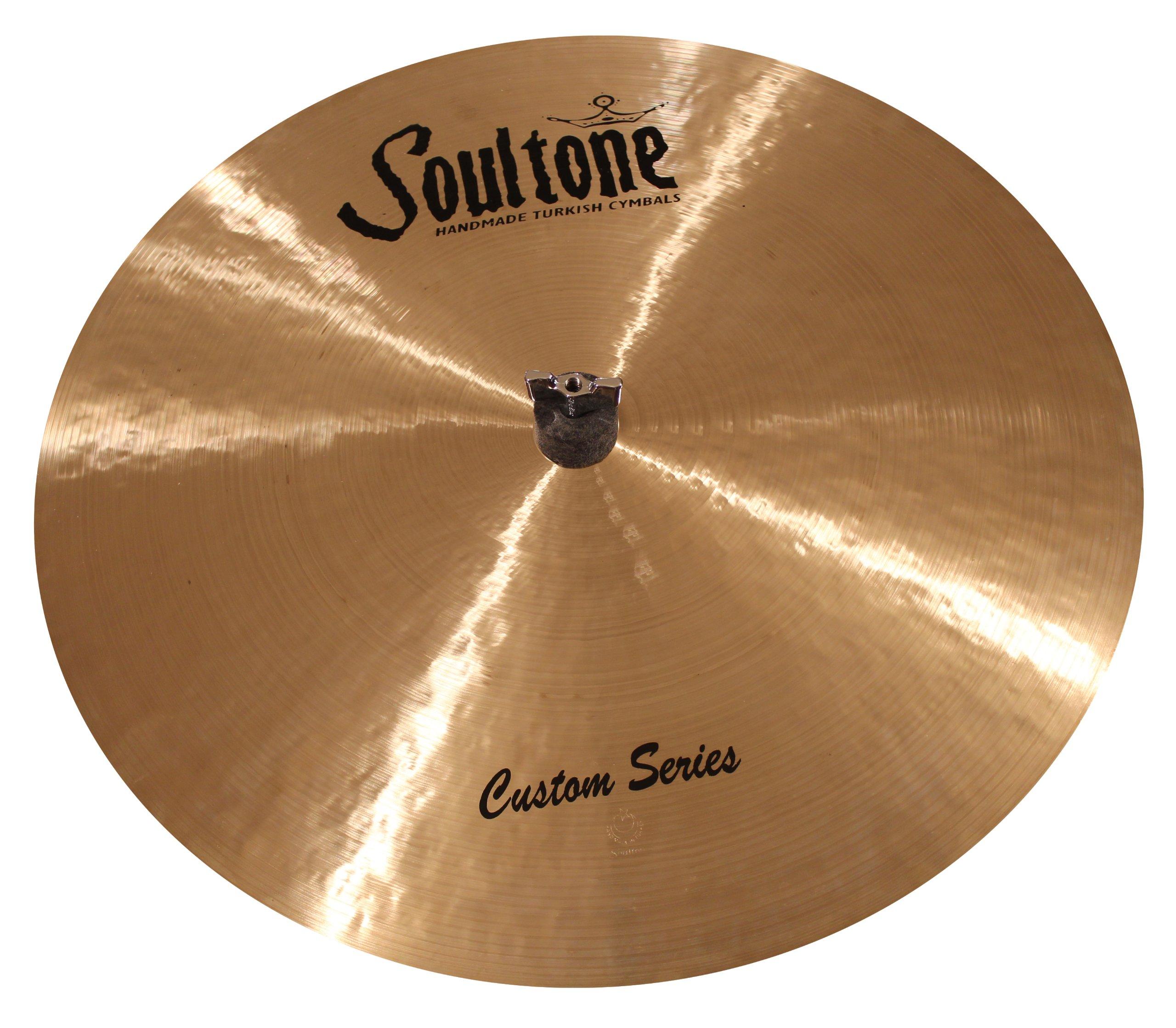 Soultone Cymbals CST-FLRID18-18'' Custom Flat Ride by Soultone Cymbals