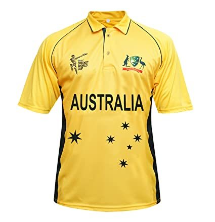 05451d6b124 Amazon.com : Australia Cricket T Shirt Jersey T 20 World Cup 2017 ...