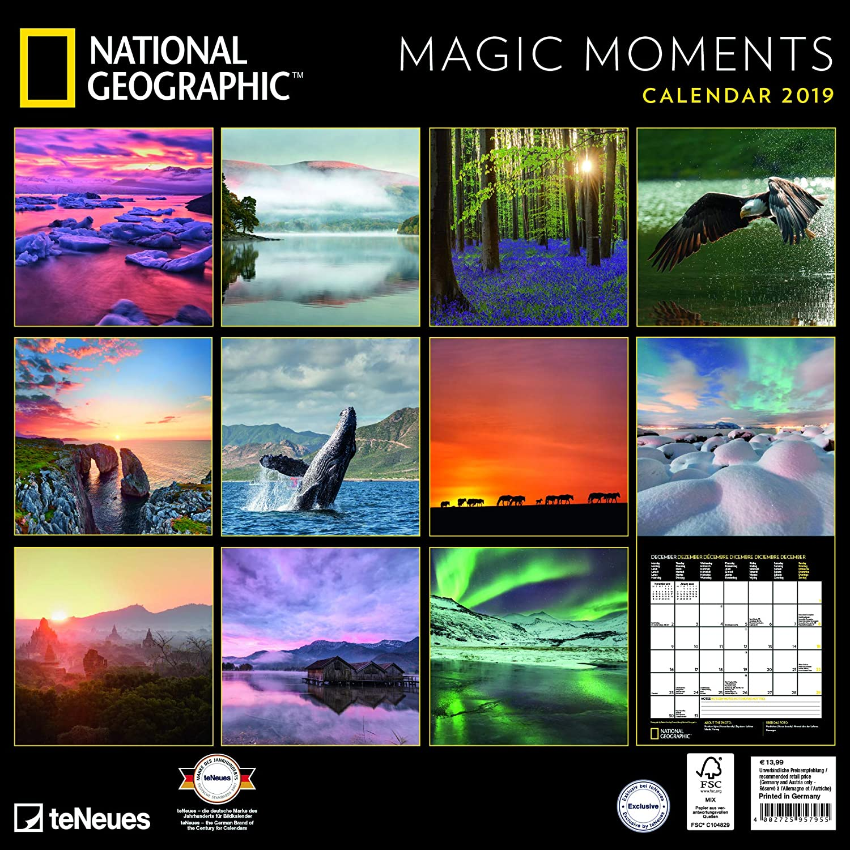 Calendario 2019 National Geographic capa de sol - Provence ...
