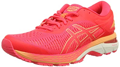 ASICS Damen Gel-Kayano 25 Laufschuhe, Pink, 44.5 EU: Amazon.de ...