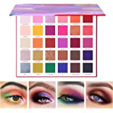 UCANBE 30 Colors Eyeshadow Makeup Palette, High Pigmented Shimmer Matte Glitter Metallic Neutral Dramatic Smooth…