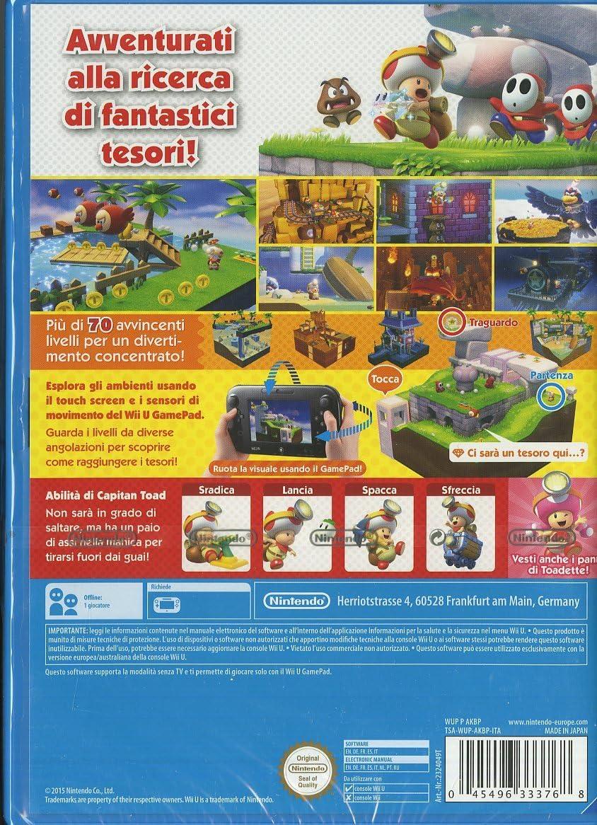 Nintendo Captain Toad - Juego (Wii U, Wii U, Acción / Aventura, E (para todos)): Amazon.es: Videojuegos