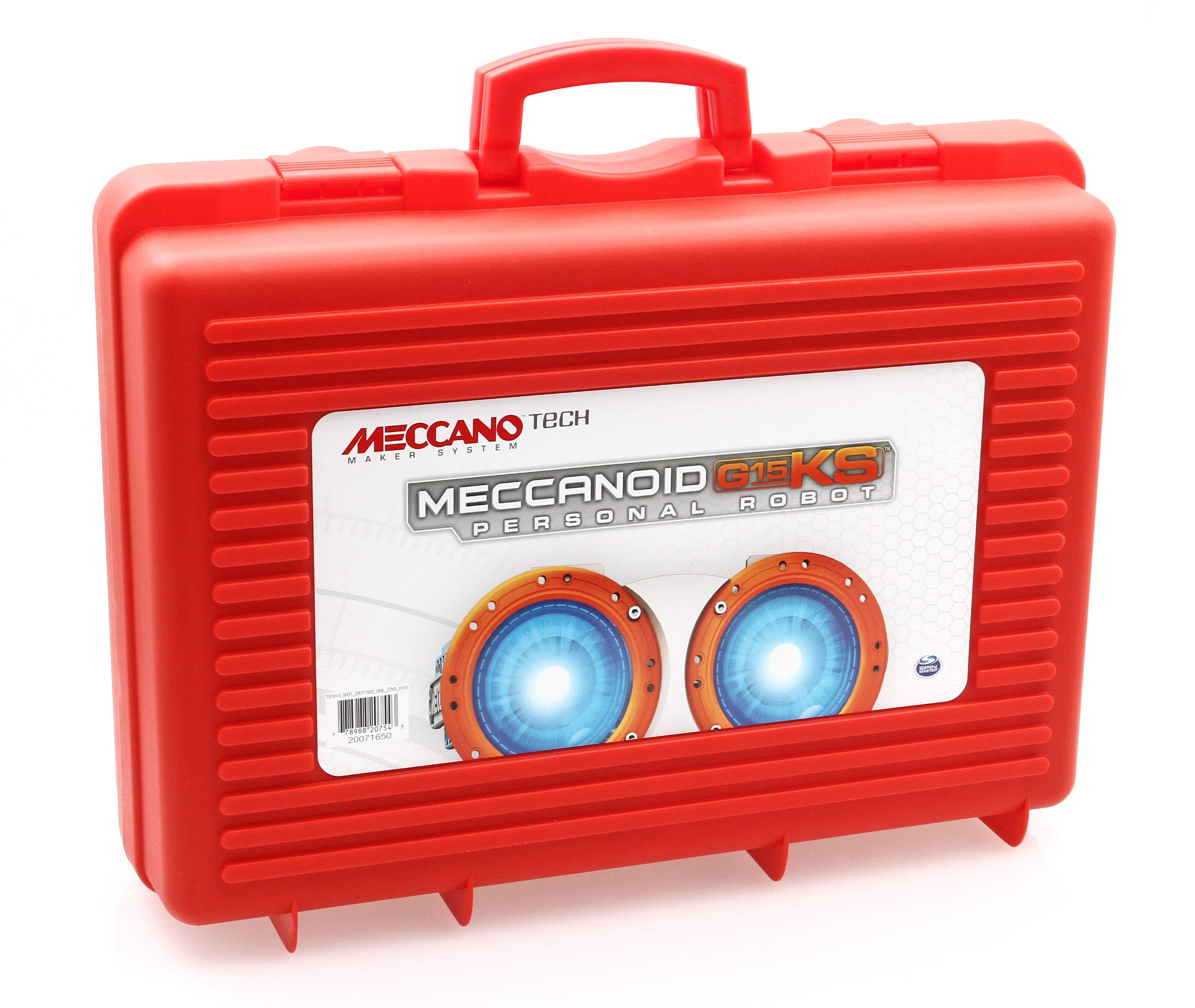 Meccano MeccaNoid G15KS 1243 Piece Robot Building Kit with Carrying Case by Meccano (Image #6)
