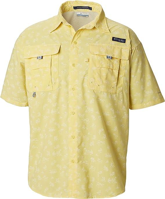 Columbia Super BahamaTM Camisa de Manga Corta para Hombre Super BahamaTM: Amazon.es: Deportes y aire libre