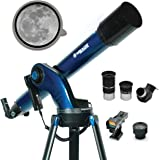 Meade Instruments – StarNavigator NG 90mm Refracting Computerized GoTo Astronomy Telescope w/AudioStar 30,000+ Object…