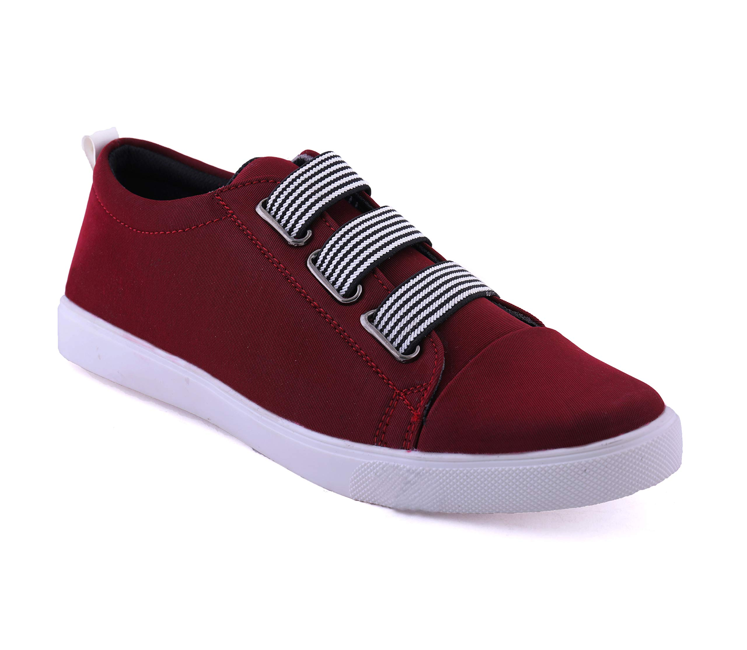 BUCADIA Men Fashion Outdoor Canvas Casual Light Weight Slip-On Evening Walk Running Shoe product image