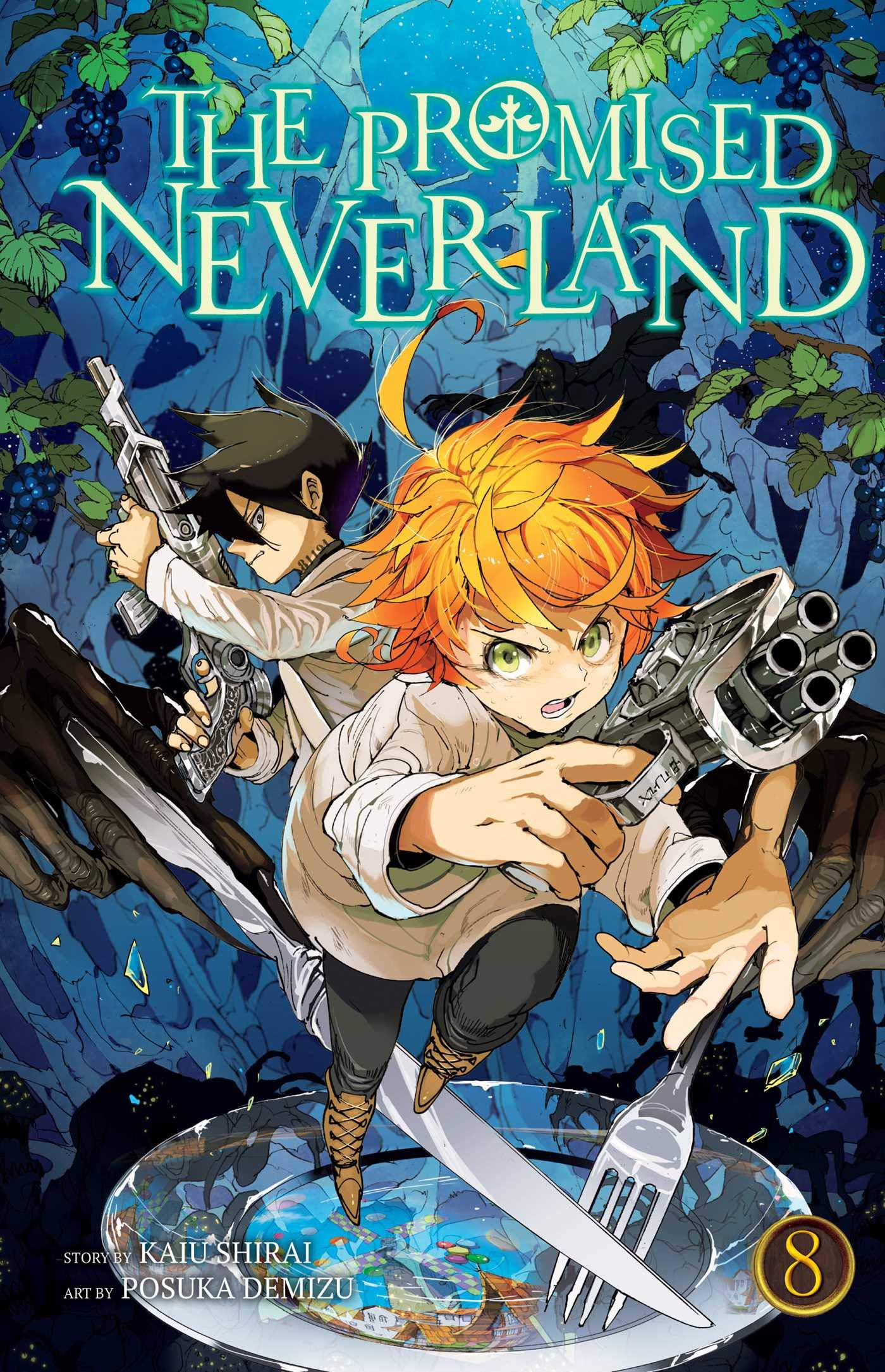 the promised neverland  : The Promised Neverland, Vol. 8 (9781974702299): Kaiu ...