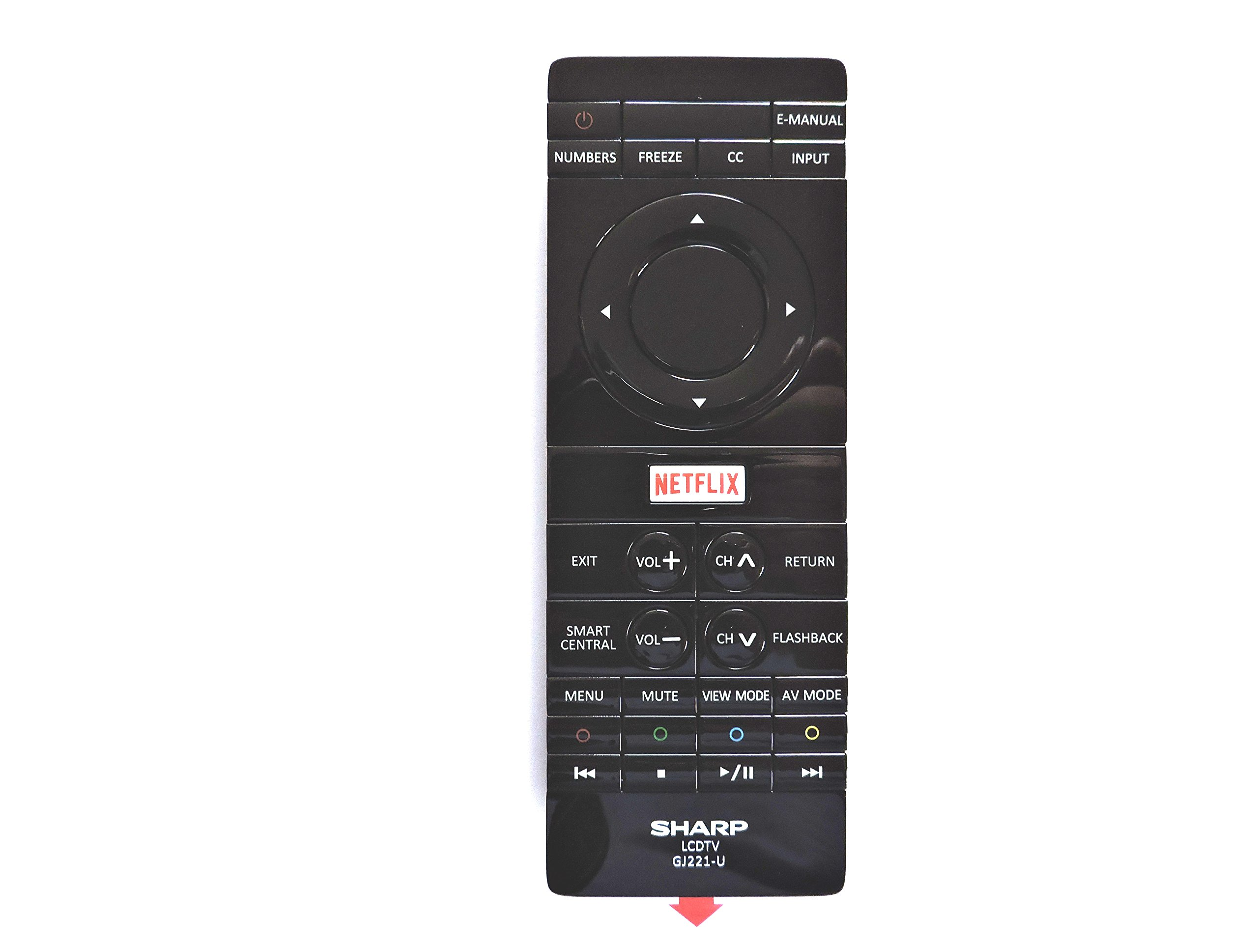 Control Remoto Sharp GJ221 U LCD 4K TV
