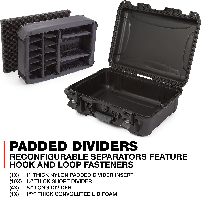 Black Nanuk 925-1001 Waterproof Hard Case with Foam Insert
