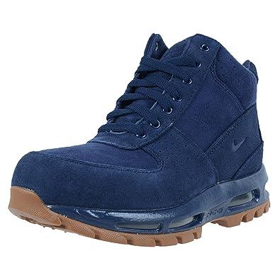 brand new e7114 aa61c Amazon.com   NIKE KIDS AIR MAX GOADOME GS ACG BOOTS MIDNIGHT NAVY MIDNIGHT  NAVY 311567 400   Boots