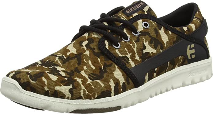 Etnies Scout Sneakers Herren Grün Camouflage (Army)