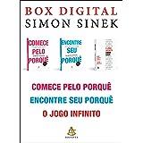 Box Simon Sinek: Comece pelo porquê • Encontre seu porquê • O jogo infinito